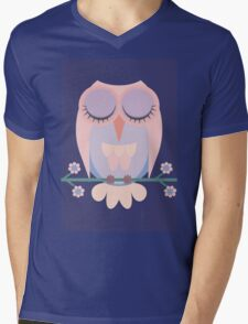 SWEET DREAMS BY OWL Mens V-Neck T-Shirt