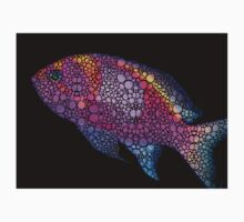 Tropical Fish 7 - Pink Art By Sharon Cummings One Piece - Long Sleeve