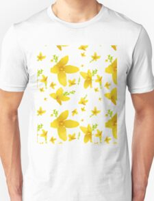 Forsythia blossoms Unisex T-Shirt
