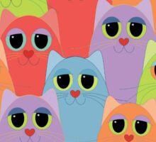 CAT FOURTEEN Sticker