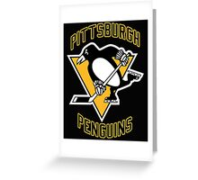 Pittsburgh Penguins Greeting Card
