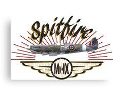 Spitfire Mk IX Canvas Print