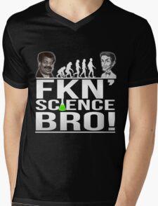 Fkn' Science Bro! - Bill Nye / Neil deGrasse Tyson Mens V-Neck T-Shirt