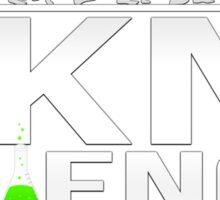 Fkn' Science Bro! - Bill Nye / Neil deGrasse Tyson Sticker