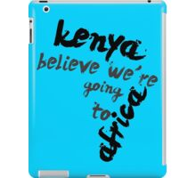 Going to Africa iPad Case/Skin