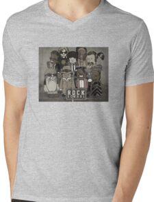 Rock School - Class Photo Mens V-Neck T-Shirt