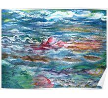 Watercolor Sky 6 Poster