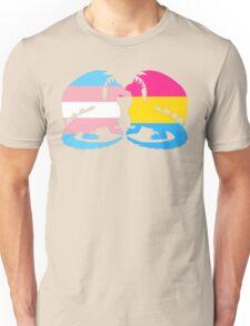 Trans Pansexual Pride Dragons T-Shirt