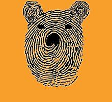 Bear Print Unisex T-Shirt