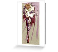 Hard Drive Diva Greeting Card