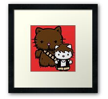 Hello Kitty Fuzzball Framed Print