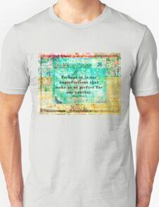 Jane Austen witty LOVE quote  Unisex T-Shirt