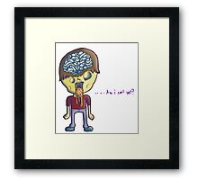 Dillute Your Self Image Framed Print