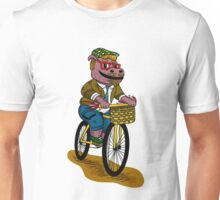 PUN INTENDED - HIPSTERPOTAMUS - HIPSTERS PARODY - FUNNY DESIGN Unisex T-Shirt