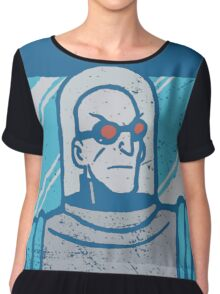 Mr Freeze • Batman Animated Series Chiffon Top