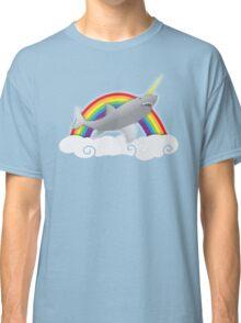 sharkicorn (SHARK AND UNICORN) Classic T-Shirt