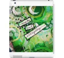 Make Art Everyday iPad Case/Skin