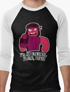 Eternal Flame Men's Baseball ¾ T-Shirt