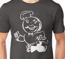 Speedy Service in White Unisex T-Shirt