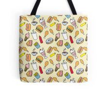 Fast Food Blvd. in Color Tote Bag