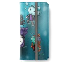 Chibi Water Type Monsters iPhone Wallet/Case/Skin