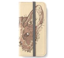 Fennec fox with pretty flowers iPhone Wallet/Case/Skin