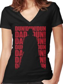IMPERIAL MARCH Women's Fitted V-Neck T-Shirt