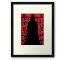 IMPERIAL MARCH Framed Print