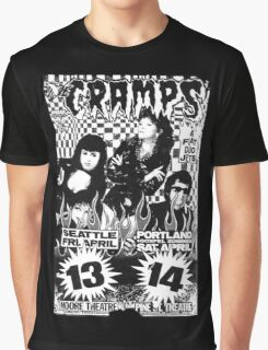 The Cramps (Seattle & Portland shows) Graphic T-Shirt