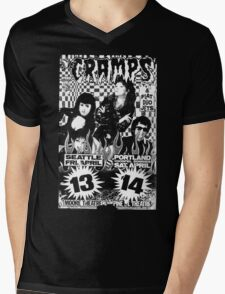 The Cramps (Seattle & Portland shows) Mens V-Neck T-Shirt