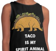 Taco is my Spirit Animal Contrast Tank