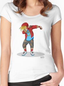 Enzo Dab Women's Fitted Scoop T-Shirt