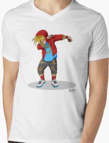 Enzo Dab Mens V-Neck T-Shirt