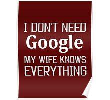 wife, Google, Internet, Smart Poster