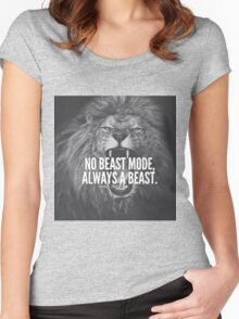 I'M AN ANIMAL! Women's Fitted Scoop T-Shirt