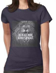 I'M AN ANIMAL! Womens Fitted T-Shirt