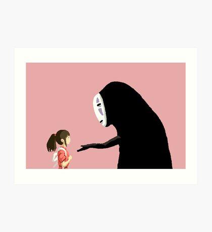Spirited Away Pixel  Art Print