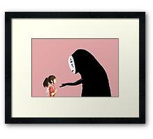 Spirited Away Pixel  Framed Print