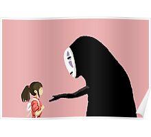 Spirited Away Pixel  Poster