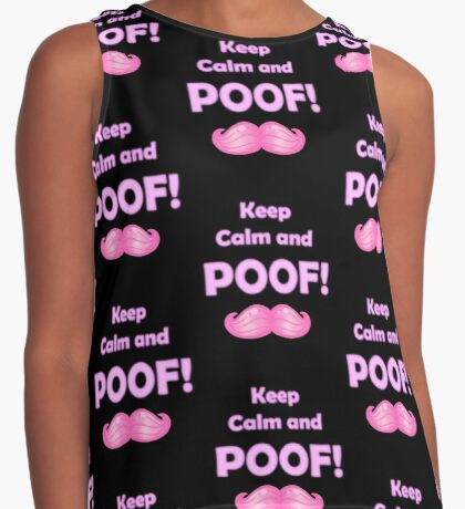 Keep Calm and POOF! 2.0 Contrast Tank
