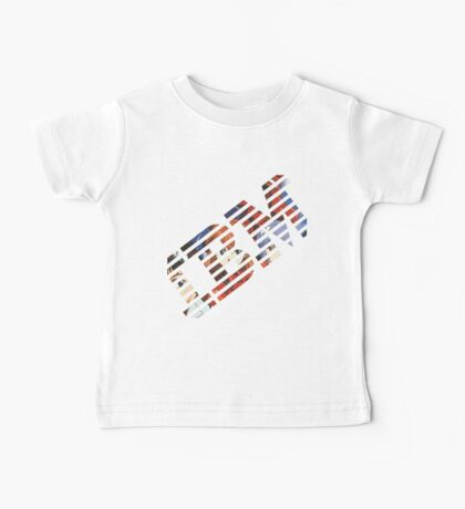 Vaporwave IBM/Neon Genesis Evangelion Mashup Baby Tee