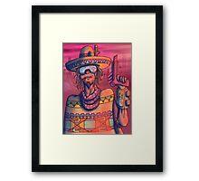 MAXIMUM PONCHO FOREVER Framed Print