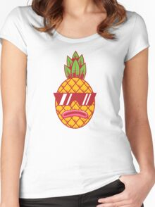 Fresh Pineapple Women's Fitted Scoop T-Shirt