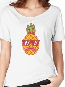 Fresh Pineapple Women's Relaxed Fit T-Shirt