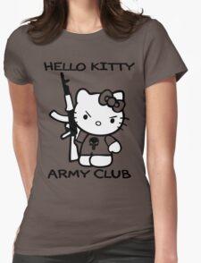 Hello Kitty Army Club Womens T-Shirt
