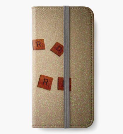 Word Nerd iPhone Wallet/Case/Skin