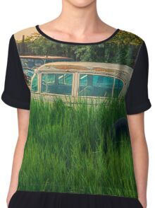 End of the Road Women's Chiffon Top