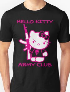Hello Kitty Army Club Unisex T-Shirt
