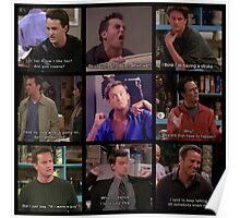 Chandler Bing Quotes Poster