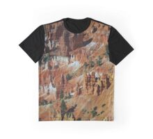 Bryce Canyon National Park Hoodoo Landscape Graphic T-Shirt